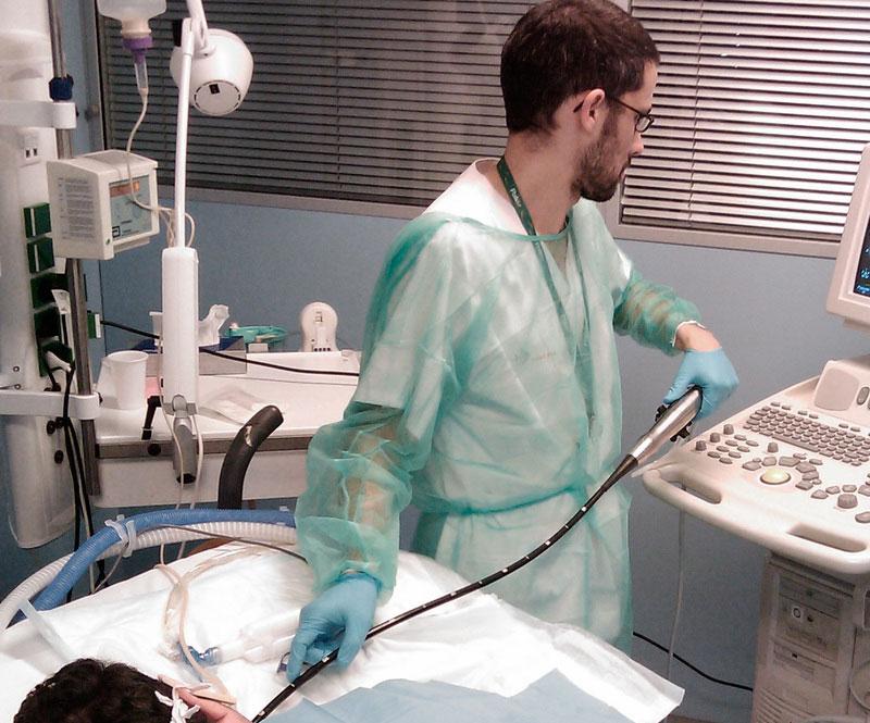 Flinders Cardiac Clinic  - Transoesophageal Echocardiogram