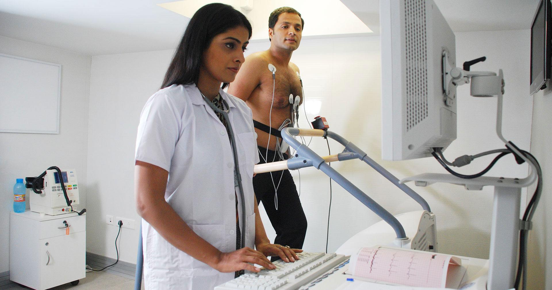 Heart & Vascular Institute - Exercise Stress Echo